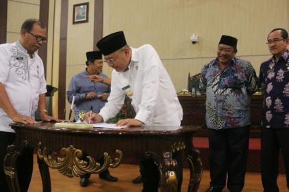 APBD Kota Medan Tahun 2018 Disahkan
