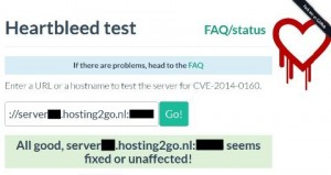 Heartbleed test PeMoCo host