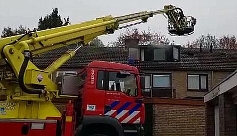 Video Update: Brand in woning aan de Noorderstraat ontstaan door wasdroger op zolder