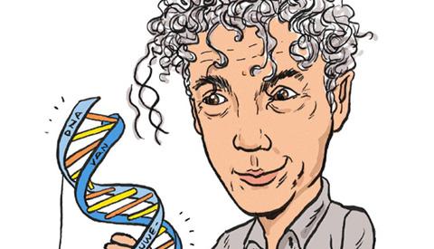 PENTekening: 'Spinvis en het Nieuwegeinse DNA'