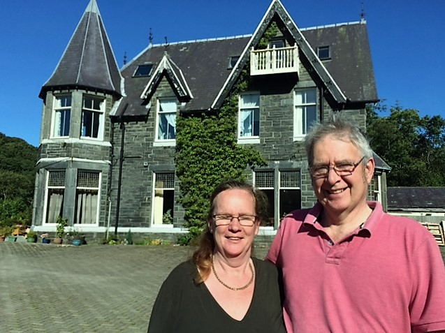 Mike and Carrie White of Plas Penaeldroch