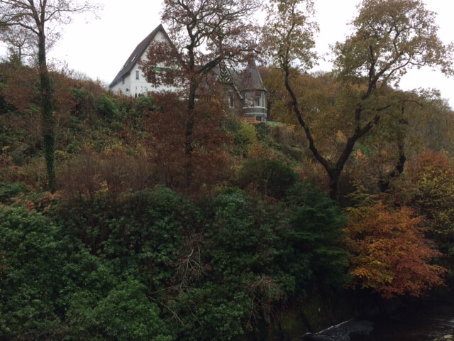 and the view having walked a few metres towards Betws y Coed