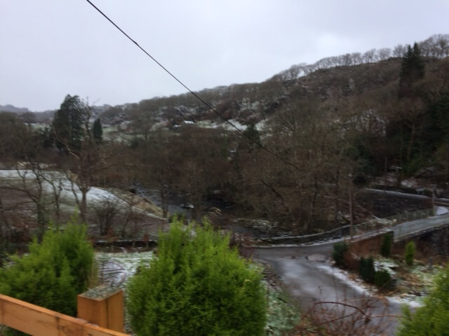 ...and a view of the river before any snow melts and brings back the rapids
