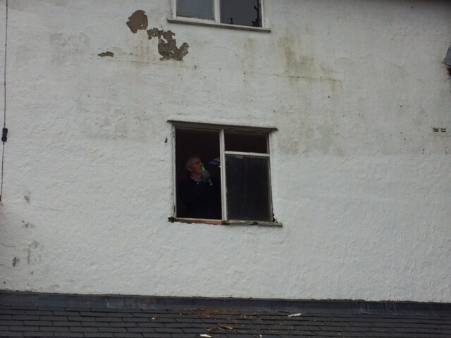 whilst these windows were pretty poor - indeed the entire sill has had to be cut away and replaced