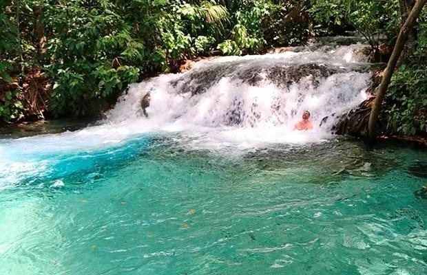 A indescritível Cachoeira do Formiga