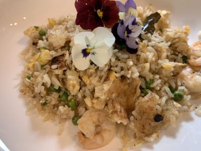 Salted Duck Egg Belacan Fried Rice Featured
