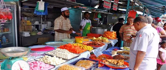 Location of Ramadan Bazaars in Penang