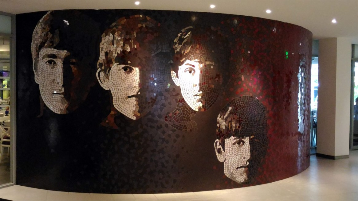 The-Beatles-Mosaic-Art-Hard-Rock-Cafe