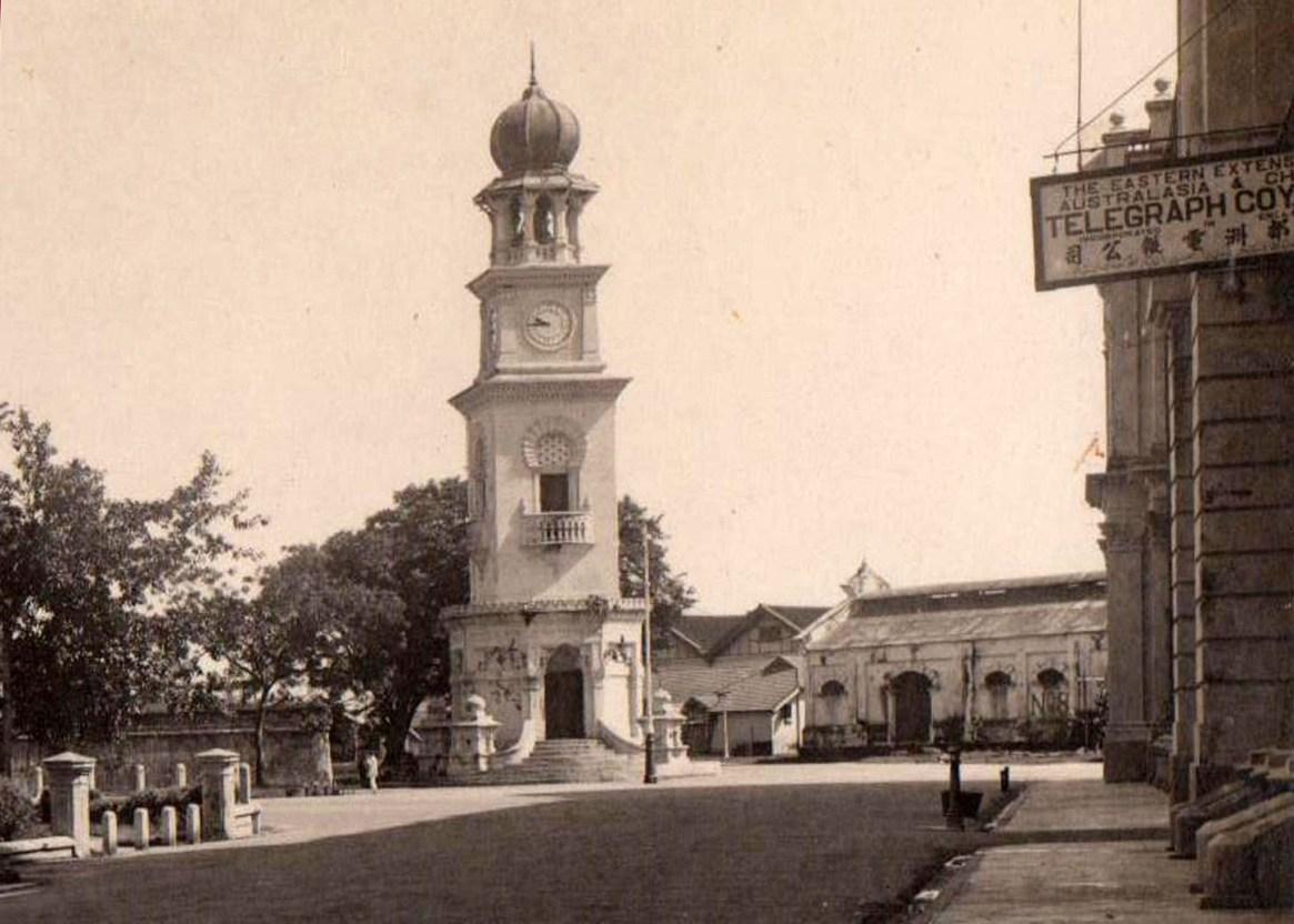1920 Clock Tower from Beach Street