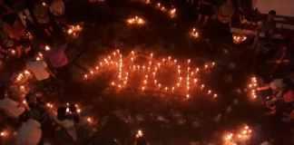 aksi seribu lilin untuk ahok