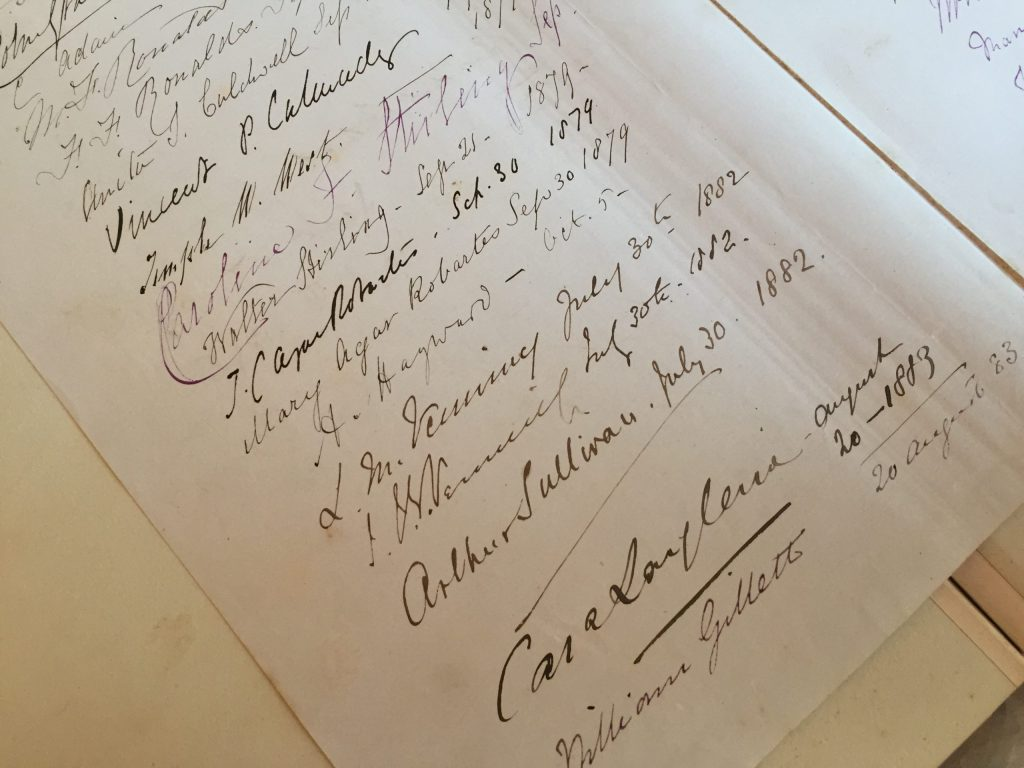 Sullivan's signature