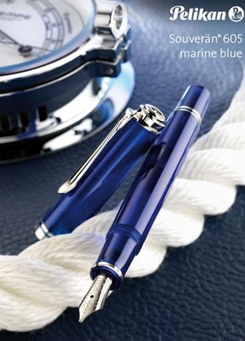 Pelikan Souveran 605 Marine Blue