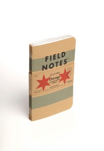 Field Notes Chicago Edition 3-Pack Notebook