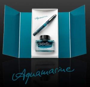 Pelikan M205 Aquamarine Pen Gift Set