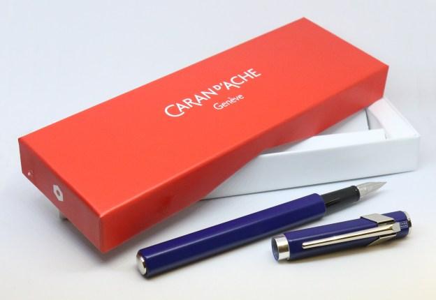 Caran d'Ache 849 Fountain Pen with Box