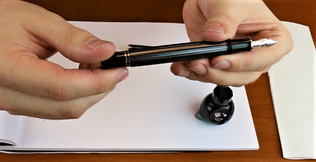 How to Fill a Piston Filler Fountain Pen