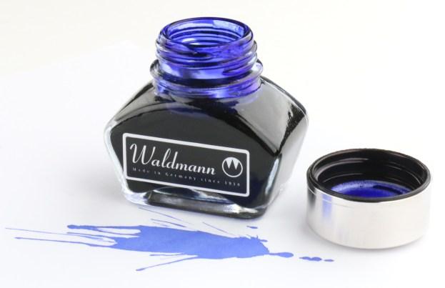 Waldmann Blue Ink Bottle
