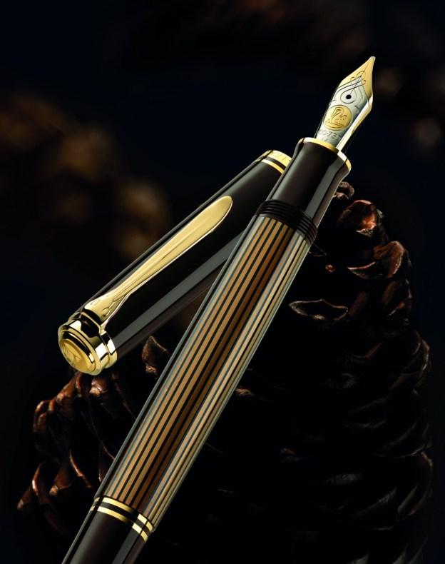 Pelikan Souverän Brown-Black Fountain Pen