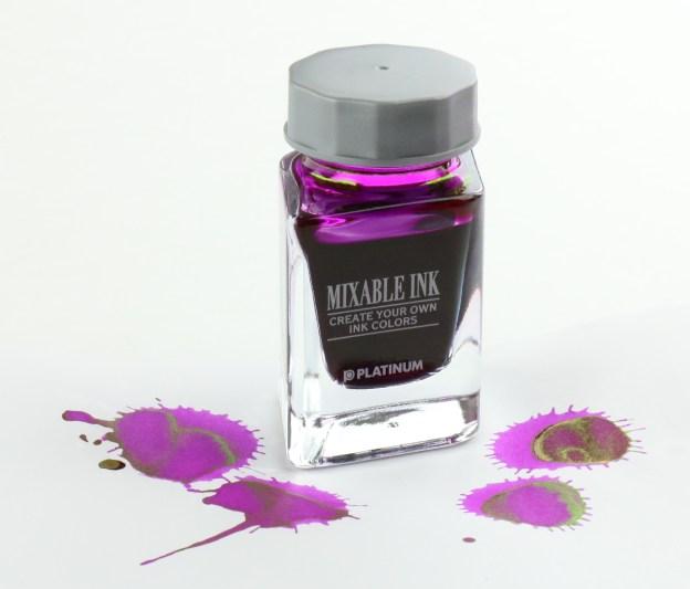 Platinum Silky Purple Mixable Fountain Pen Ink Bottle