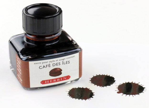 J Herbin Cafe Des Iles Fountain Pen Ink Bottle