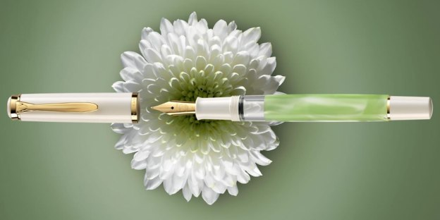 M200 Pelikan Pastel-Green Fountain Pen