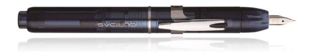 Platinum Curidas Fountain Pen Abyss Blue