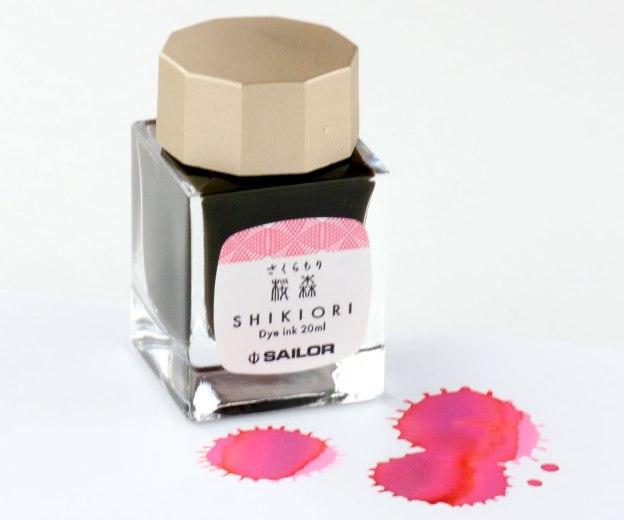 Sailor Shikiori Sakura Ink Bottle