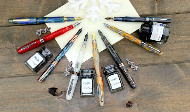 2020 holiday pen gift guide 2020 limited edition fountain pens
