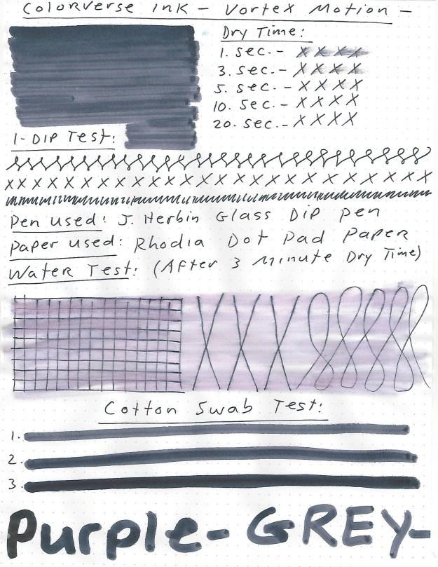 colorverse vortex motion ink review