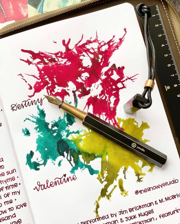 Pen Chalet Exclusive Robert Oster Ink Comparison