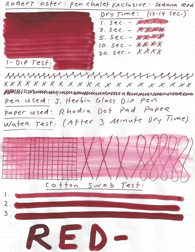 robert oster sedona red ink review