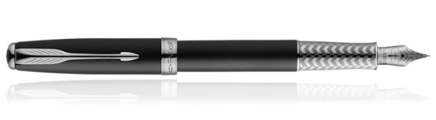 Parker Sonnet Great Expectations Special Edition Fountain Pen in Secret Shell Black