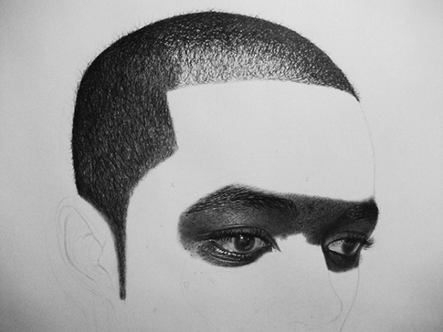 Step By Step Progress of a Remarkable Drawing Pencils