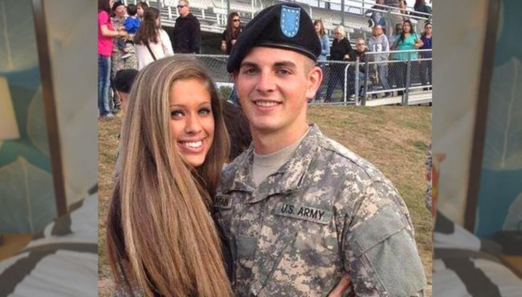 Selena Green Vargas, el porno de la novia del soldado