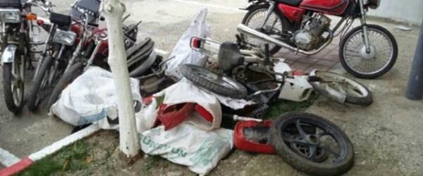 Motosikletleri Çaldılar Polisten Kaçamadılar