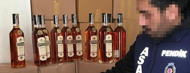 Sahte İçki Üretenler Gözaltında