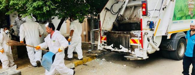Vatandaşın Evini de Pendik Belediyesi Temizliyor