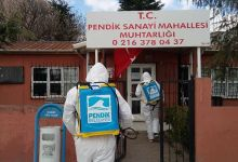 Pendik Belediyesi Her Yeri Dezenfekte Ediyor