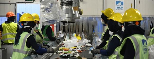Sabiha Gökçen Havalimanı'ndan 12 bin 410 Ton Atık Toplandı