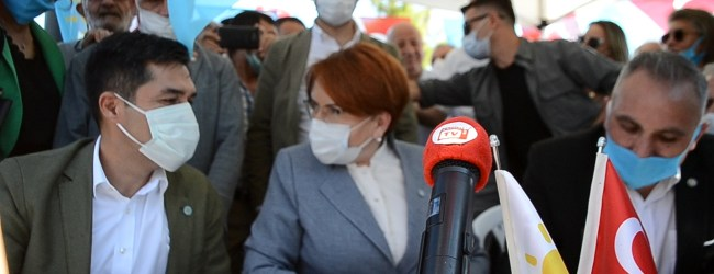 İYİ Parti Genel Başkanı Meral Akşener Pendik'te…