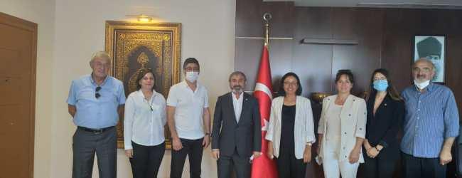 CHP Pendik'ten Kaymakam Dr. Hülya Kaya'ya Hayırlı Olsun Ziyareti