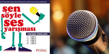 Pendik Gazetesi Ses Yarışması Düzenliyor