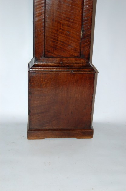 Elegant oak base of Francis Robinson clock