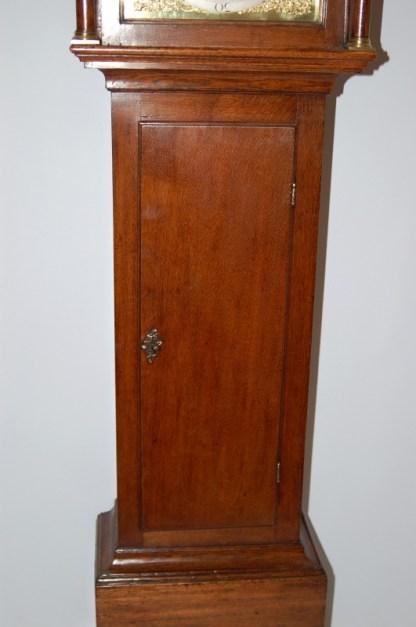 Fine long trunk door on Bilbie clock