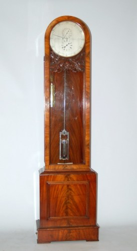 A fine 1860 English regulator clock