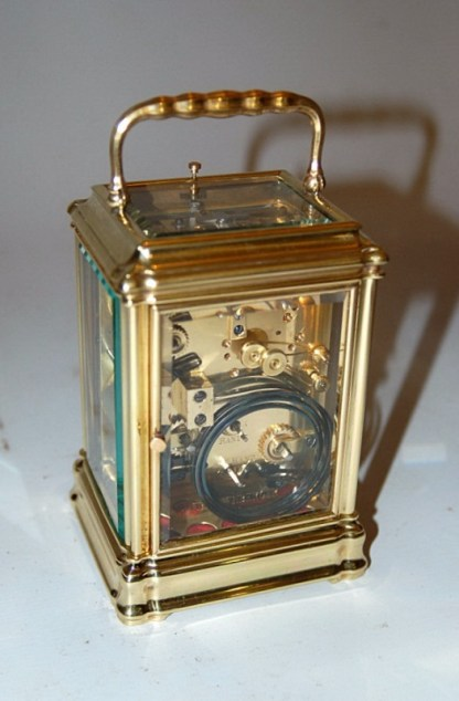 lovely brass carriage clock