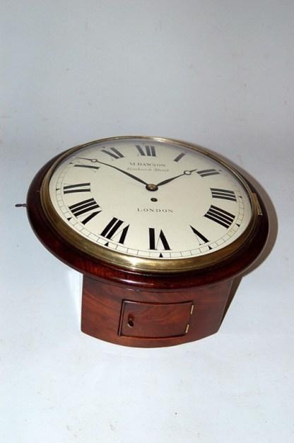 Dawson dial clock close