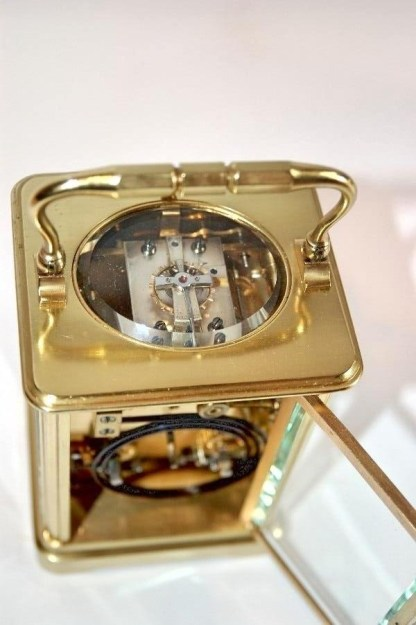 carriage clock escapement