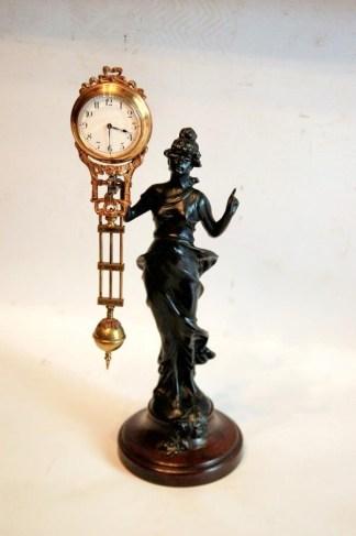 Goddess Diana mystery clock