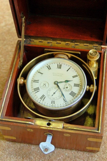 8 day marine chronometer